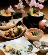 前菜・造り・鍋・焼き八寸・揚物・蒸物・食事・甘味・飲物