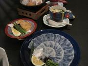 前菜・造り・鍋・揚物・蒸物・食事・デザート・コーヒー