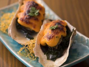 素材の味を絶妙に生かした『広島産カキのうに風味焼き』