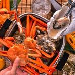 ぷりっぷりの新鮮な牡蠣を思う存分楽しめます