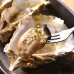 牡蠣の濃厚チーズグラタン