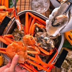 《3時間飲み放題付6品》「牡蠣フライ」や「牡蠣ごはん」など素材の味を活かした絶品料理も多数ご用意♪
