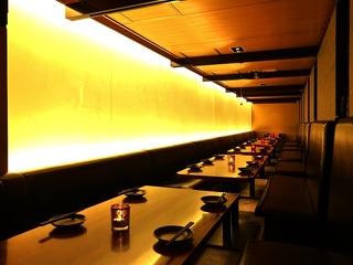 【上野】落ち着いた雰囲気の和モダン個室