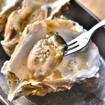 3種食べ比べ◎生牡蠣 3種桶盛り
