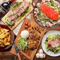 選べるメイン付き 牛ハラミのグリルステーキor「発酵鍋」「カマンベールチーズ鍋」からお選び頂けます!