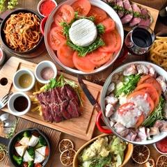 選べるメインは牛サーロインステーキor肉鍋をご用意 さらに今年は大注目のトレンド鍋「発酵鍋」も登場!
