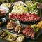 熟成肉など自慢の肉料理で乾杯!飲み放題付きコース3000円~!