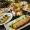 お造り3点盛り合わせや白身魚の揚げおろし等、宴会におすすめな和食コース!最大2.5時間の飲み放題付き♪