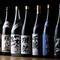 全国から集められた厳選の日本酒を季節ごとに入れ替え