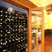 ワインも品揃え豊富