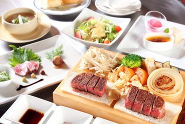 神戸ビーフを味わい尽くせる『<最優秀賞>神戸ビーフステーキコース(140g)』