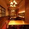 雰囲気のある個室はプライベート感満載