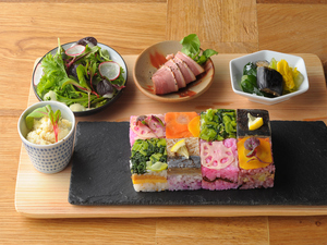 7月1日リニューアル『夏のイナズマ寿司ランチ』