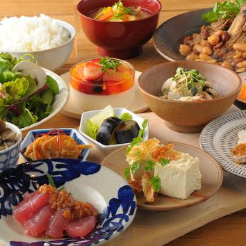 お米研究所オリジナル発酵お食事コース
