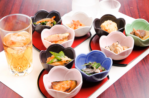 素材を生かした料理は、毎日でも食べたくなる『小鉢 三品』