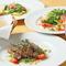ランチ、ディナー共に人気のコース料理