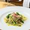 『トロフィエ イタリア産生ハムと季節野菜のジェノベーゼ』