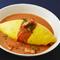 ふんわりとした卵とデミグラスソース『ふわふわ帽子のオムライス』