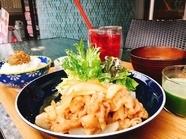 ジューシーで食べ応えのあるお得なランチ『生姜焼き』