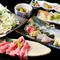 コース料理は3000円より、飲み放題はプラス1500円