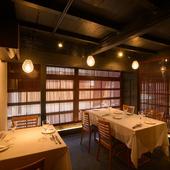 季節の多彩な食材を味わえる金沢フレンチで、大人のデートを