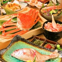 『ますよね』が厳選した蟹を思う存分堪能頂けるフルコース 接待 会食 宴会 歓送迎会などにオススメ!