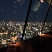 1つ1つの灯りがロマンチックな時間を演出する名古屋の夜景