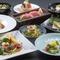 貝づくし会席のお食事は貝釜めしと貝寿司からお選びいただけます