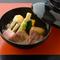 柔らかい鴨肉と季節ごとに変わる食材を、とろみのある餡が包み込んだ『鴨の治部煮』