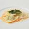 リコッタチーズとホウレン草のラビオリ