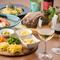 世界各国から厳選した、バラエティ豊富なワインが集合