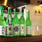 地酒をはじめ、県内外のお酒が種類豊富な品揃え
