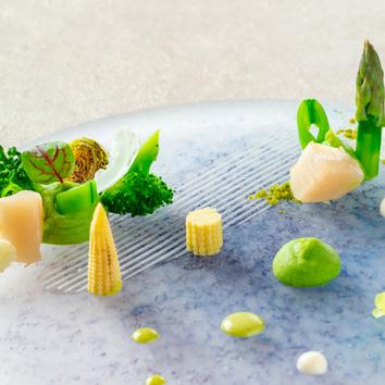 【De luxe―リュクス―】前菜、お魚、お肉料理など全6品程