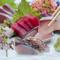 毎日、瀬戸内の市場から新鮮魚介類が入荷
