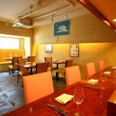 アットホームな雰囲気のレストラン