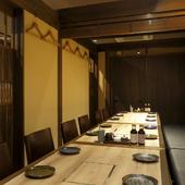 おしゃれな海鮮と串の店