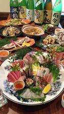 地物から瀬戸内まで…旬の朝どれ鮮魚をお楽しみ下さい。