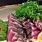 前日までのご予約で、美味しい高知の鮮魚やカツオのタタキをご用意します。