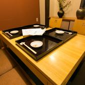 京都五条の「半兵衛麩」など、京都の老舗の食材も味わえる