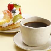 自家製タルトとコーヒーのセット