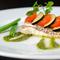 ふわっと柔らか、野菜たっぷりの『鯛のポワレ パセリソース』