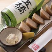 『ハトシ揚げ』は長崎出身の店主ならではのご当地メニューです