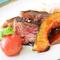 宮崎牛とフォアグラのステーキ