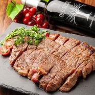 鉄板でお好みの焼き加減に『牛ハツ贅沢ステーキ』