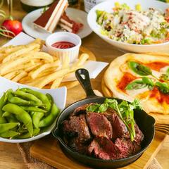 料理長お勧めの創作和食を存分にご堪能頂けるコース。ボリューム満点で会社飲み会や歓送迎会等に最適です