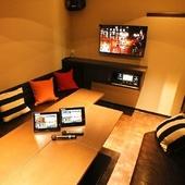 【テレビ付き完全個室】カラオケもできます◎