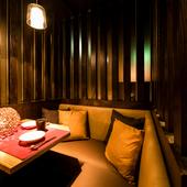 《落ち着いた大人の隠れ家》プライベートな個室でデートや女子会