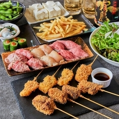 飲み放題を1000円で追加できますのでたくさん飲んでたくさん食べたい方は是非!