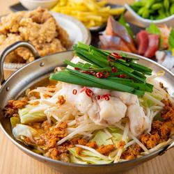 さっぱり鶏塩鍋とオススメ絶品料理を存分に味わえるコースです!!