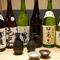 宮城の地酒と各地の日本酒を厳選、常に15種類は揃っています。